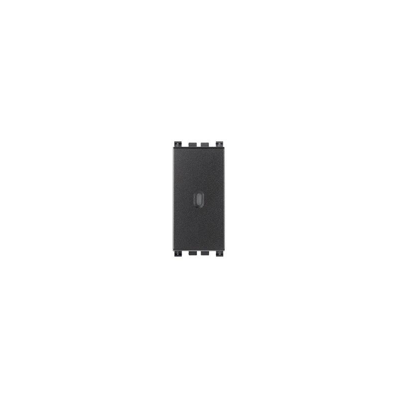 Vimar Arkè 19101 - Interruttore 1P 16AX assiale grigio