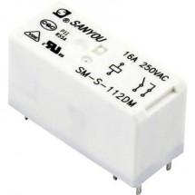 SM-S-112DM Relè per PCB 12 V/DC 20 A 1 NA 1 pz.