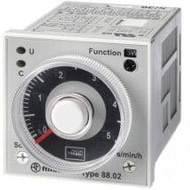 Finder 88.02.0.230.0002 Relè temporizzato Multifunzionale 1 pz. Intervallo di tempo: 0.05 s - 100 h 2 scambi