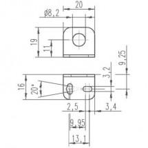 Leuze Electronic 50113550 BT D08M.5 1 pz.