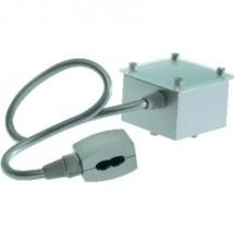 Componente per sistema su binario ad alta tensione Alimentatore SLV 184002 Grigio-Argento