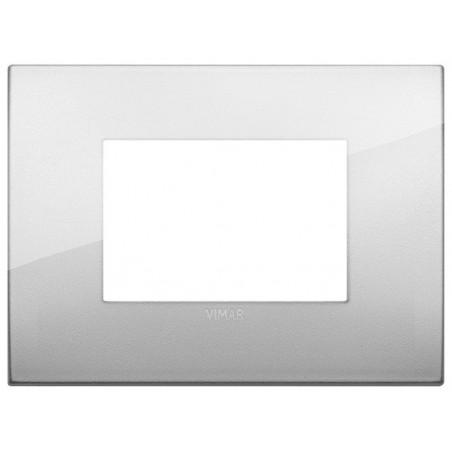 Vimar Arkè 19653.03 - Placca Classic 3M argento