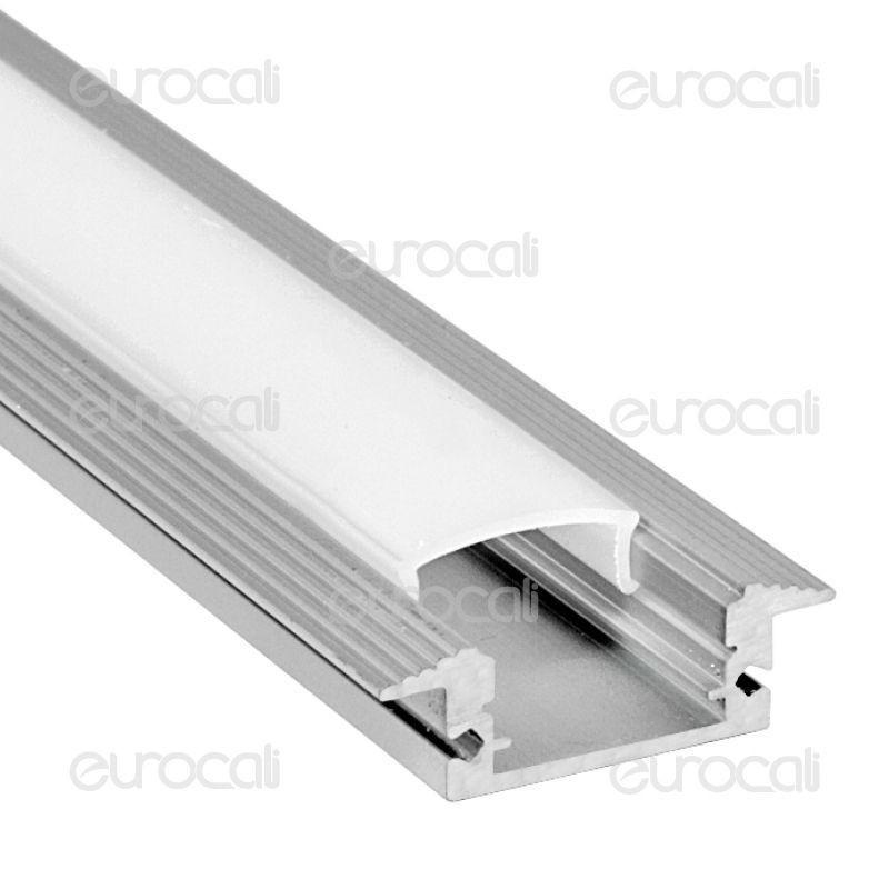 V-Tac Profilo In Alluminio Per Strisce Led Mod. 9990 - Lunghezza 1 Metro
