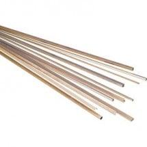 Profilato Ottone Tubo (Ø x L) 2.5 mm x 500 mm Diam int: 1.6 mm