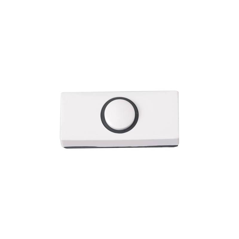 Heidemann 70180 Tasto per campanello 1 scomparto Bianco 24 V/1 A