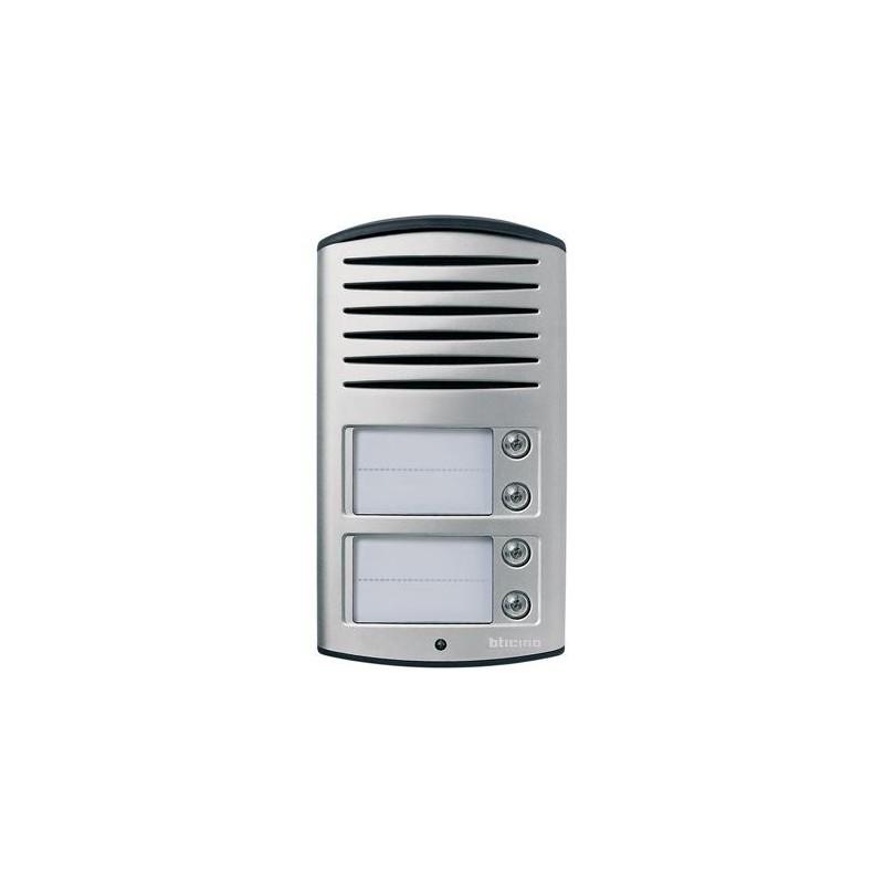 Pulsantiera Audio 2 Fili 4 Pulsanti IP54 Linea 2000 Bticino 342941
