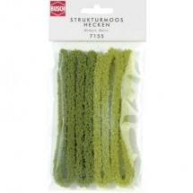 Siepe 10 mm Busch 7155 Verde