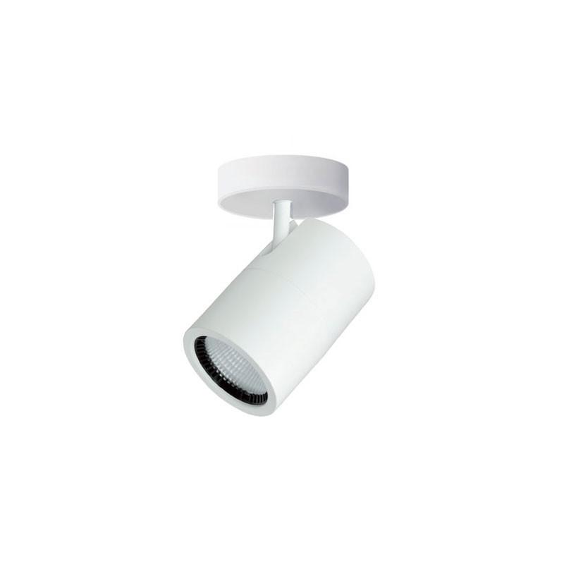 Faretto Led Orientabile Bianco 17W Luce Calda 3000K 2000lm