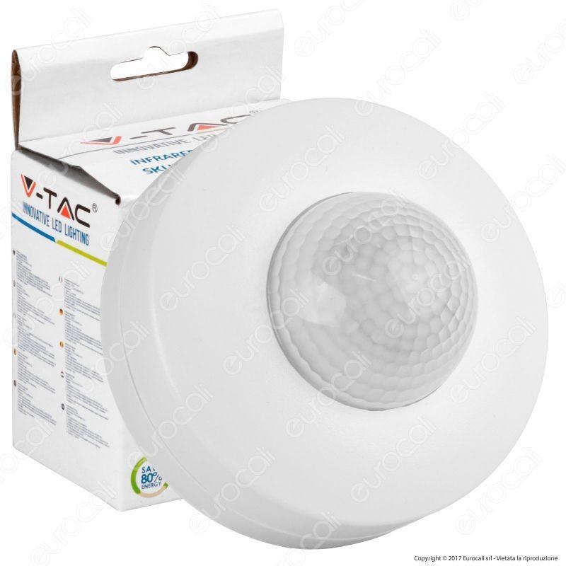 V-Tac Vt-8049 Sensore Di Movimento A Infrarossi Per Lampadine