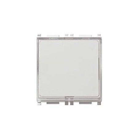 Vimar 14050 - Pulsante targhetta bianco