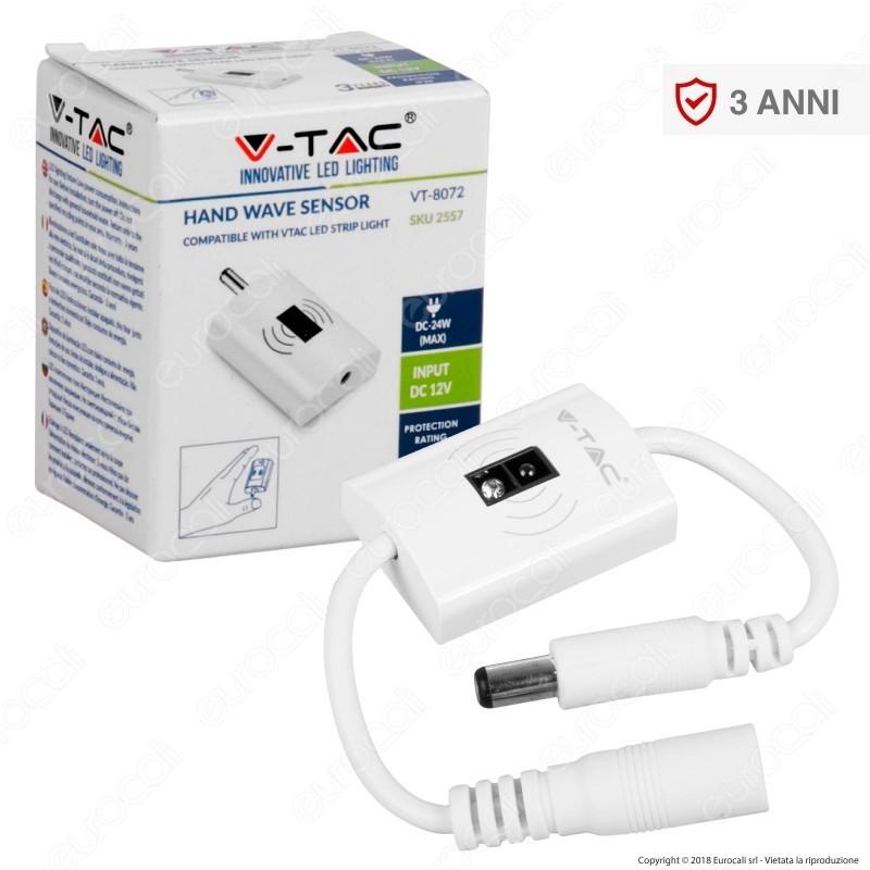 V-Tac Vt-8072 Sensore Di Movimento A Corto Raggio Per Strisce Led