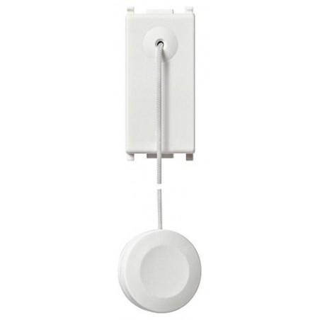 Vimar Plana 14052 - Pulsante Unipolare con Tirante Bianco