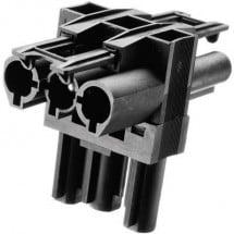 Adels-Contact AC 166 GVT 3/ 3 Connettore di distribuzione Spina di rete - Presa di rete, Presa di rete Tot poli: 2 + PE