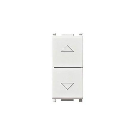 Vimar Plana 14060 - Commutatore 10Ax Frecce Direzionali Bianco