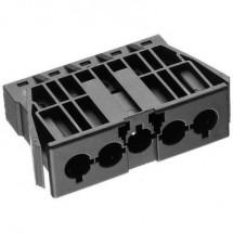 Connettore di alimentazione AC Serie: AC Spina verticale Tot poli: 4 + PE 16 A Bianco Adels-Contact AC 166 GEST/ 5 1