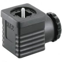 Connettore per valvola Nero G1NU2000 Poli:2 + PE HTP Contenuto: 1 pz.
