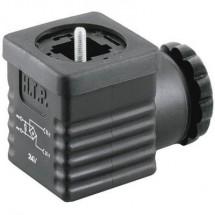 Connettore per valvole con raddrizzatore a ponte Nero G1NU2RV1 Poli:2 + PE HTP Contenuto: 1 pz.