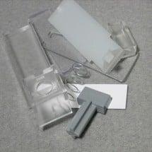 Urmet 4812/10 - Confezione Tasto Ricambio Pulsantiera Citofonica Alluminio