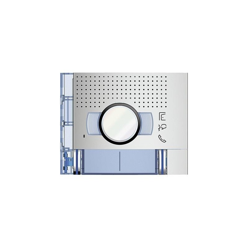Bticino 351221- Frontale A/V Standard 2 Pulsanti Allmetal Terraneo