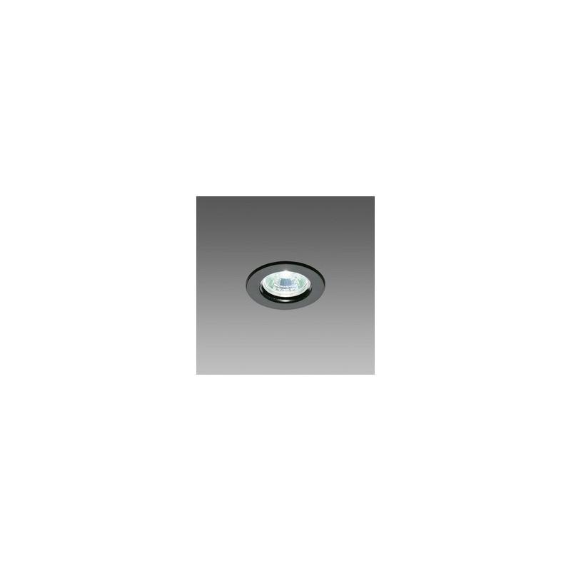 Faretto Alogeno Dicroico Fosnova 50W GU10 Luce Calda 3000K Nero