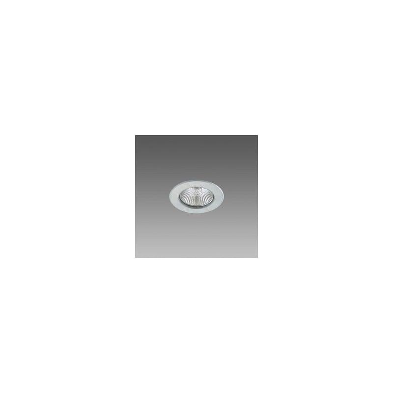 Faretto Alogeno Dicroico Fosnova 50W GU10 Luce Calda 3000K Cromo