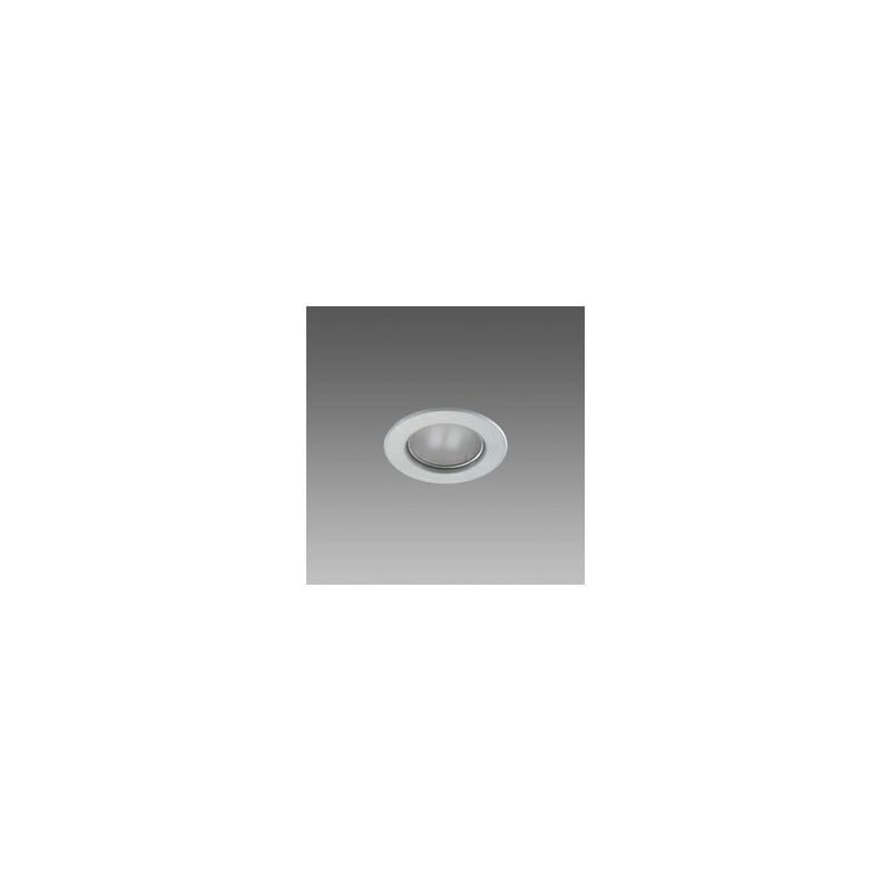 Faretto Alogeno Dicroico Fosnova 50W GU10 Luce Calda 3000K Argento