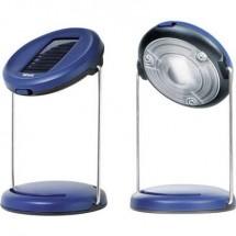 LED Luce da campeggio NIWA Uno 50 50 lm a energia solare 200 g Blu-nero Uno 50/01