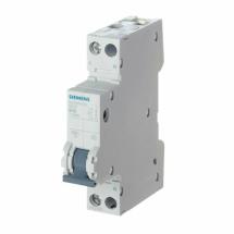 Interruttore Automatico Magnetotermico 1P+N 1 Modulo 10A Siemens 5SY30107