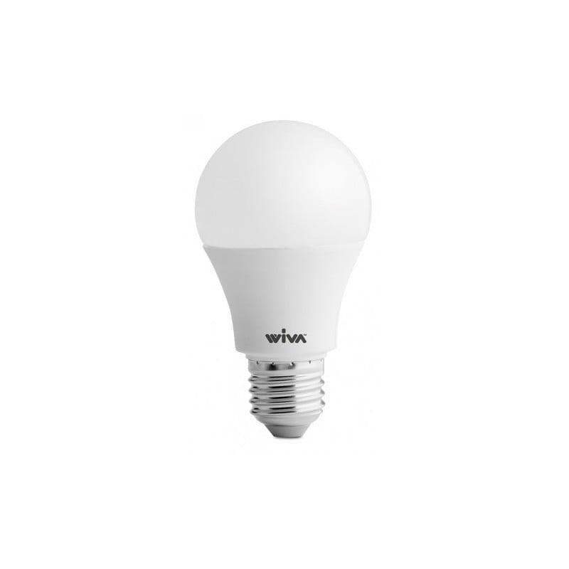 Lampada wiva a led e27 8w goccia 3000k luce calda for Lampadine faretti led luce calda
