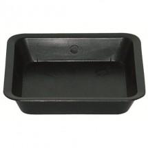 Sottovaso Quadrato Nero Per Vasi Da 6L