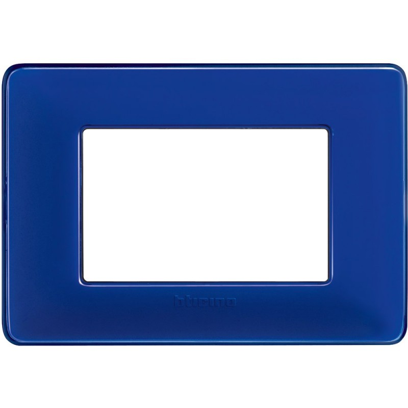 Placca 3 Posti - Cobalto - Matix Colors prezzi costi offerte vendita online