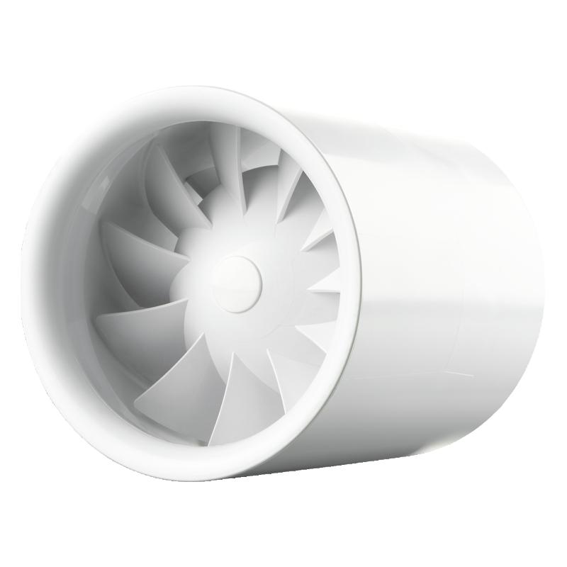 Vents - 100 Quietline - Aspiratore A Velocita' Singola - 100 M3/H, 25Dba