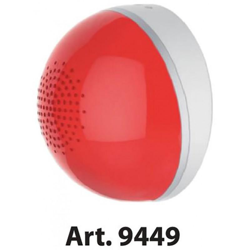Sirena Allarme per Impianti Domotici Feb Air 9449 Sistema di Sicurezza per Casa e Ufficio