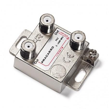 Partitore Fracarro 280701 2 Vie PA2 Connettore F 5-2400