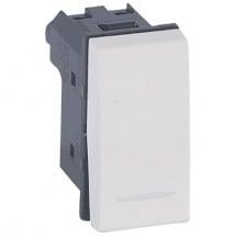 Deviatore 1P 10A - Legrand 687003 - Vela bianca prezzi costi offerte vendita on line