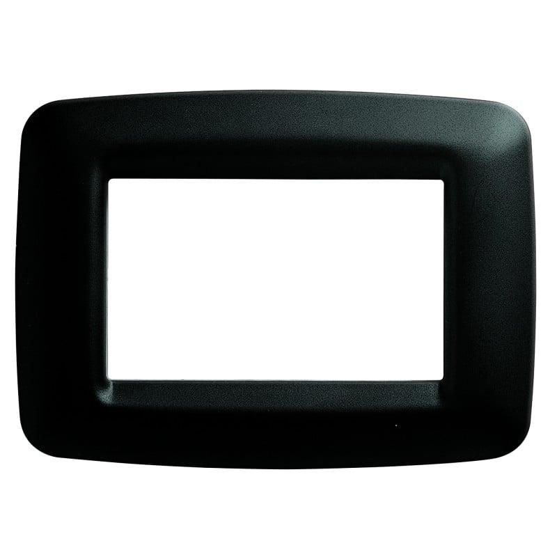 Placca Nero Toner 3 Moduli Gewiss Playbus Young 32303 prezzi costi costo