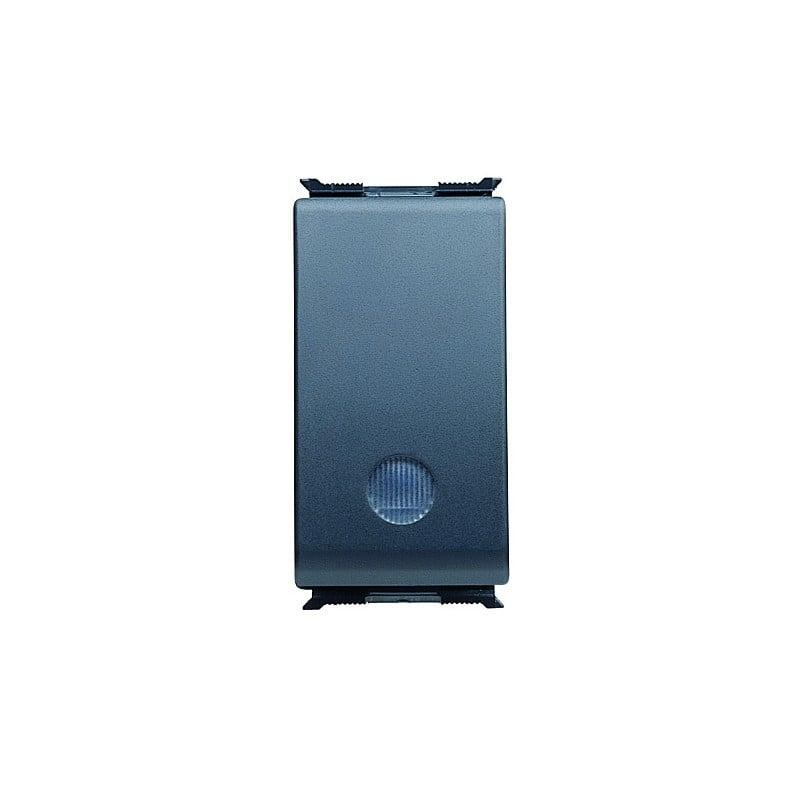 Pulsante Unipolare Luminoso Illuminabile Segnalazione 16Ax 250V Gewiss Playbus 30023 prezzi costi costo