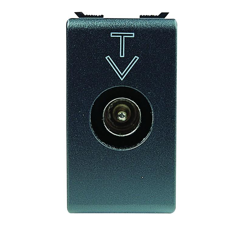 Presa Coassiale Tv/Sat Derivata Maschio Diretta 9,5mm Gewiss Playbus 30301 prezzi costi costo
