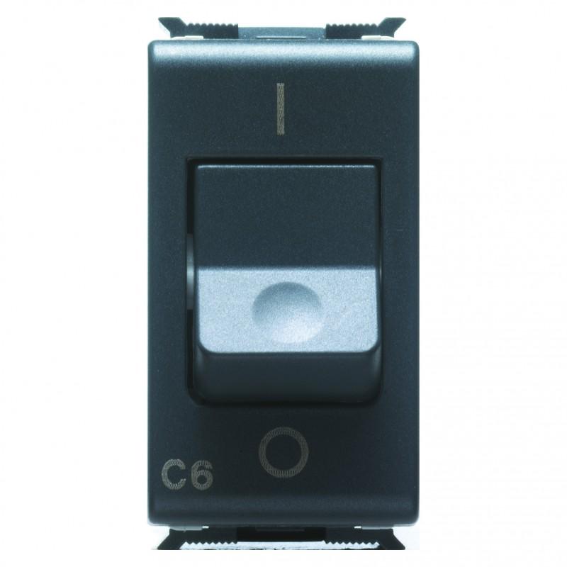 Interruttore Automatico Magnetotermico 1P + N 6A 3KA Gewiss Playbus 30374 230V Curva C prezzi costi costo