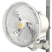 Ventilatore Portatile Monkey Fan con Clip Oscillante 21cm 20 watt 2 Velocità Bianco