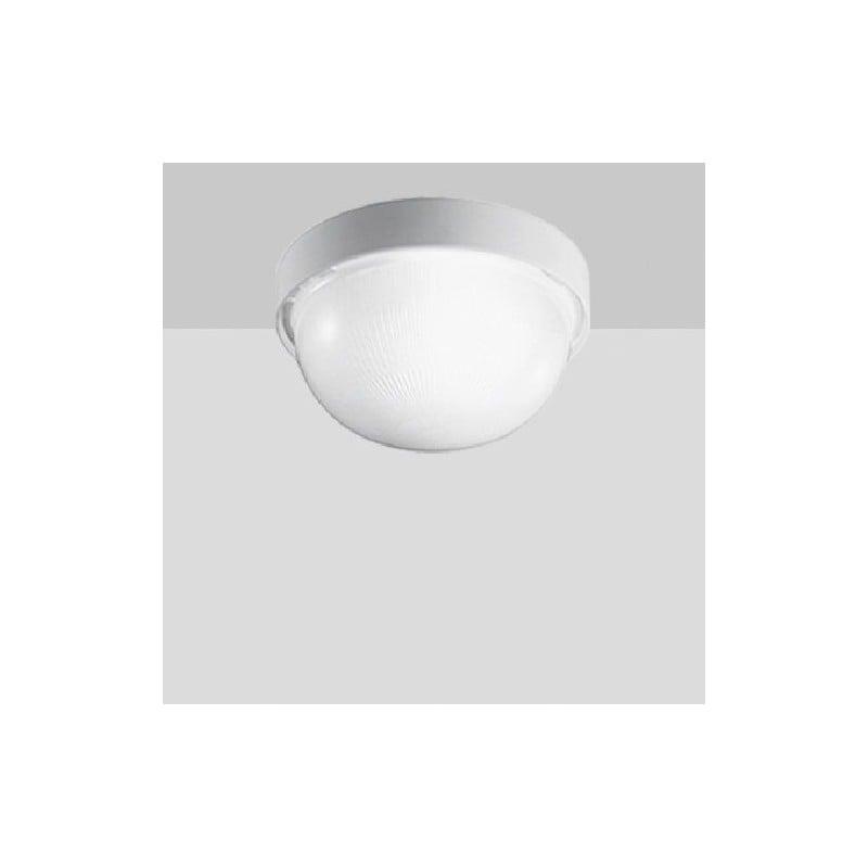 Plafoniera Tonda da Soffitto, Colore Bianco, Passo Attacco E 27, Potenza luce 100W per illuminazione interna.