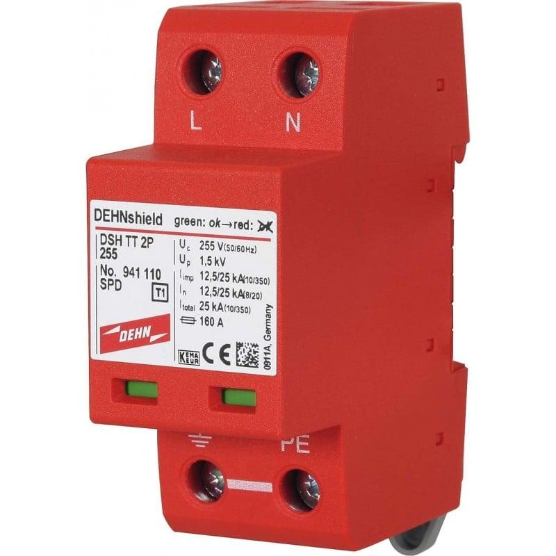 Dehn 941110 - Scaricatore DSH TT 2P 255 DEHNshield Combinato Monofasico