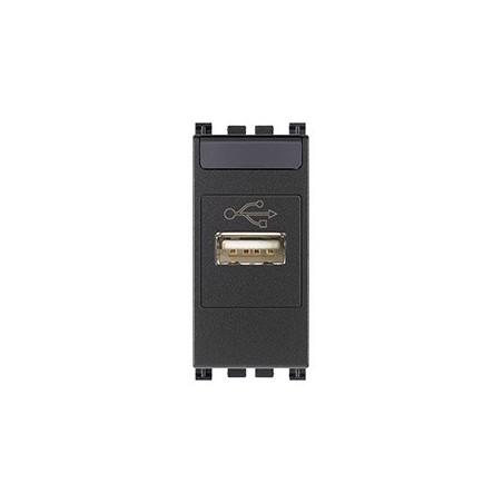 Vimar Arké 19345 - Presa USB grigio