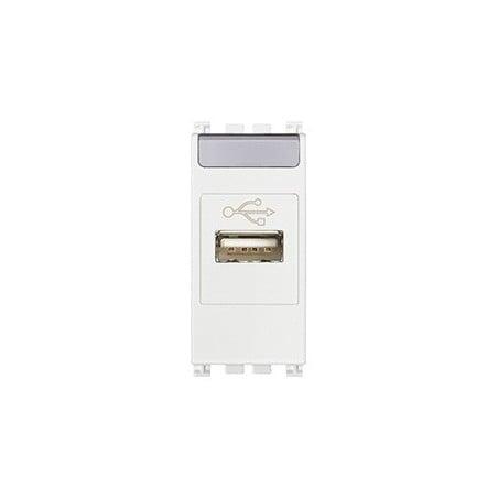 Vimar Arké 19345.B - Presa USB bianco