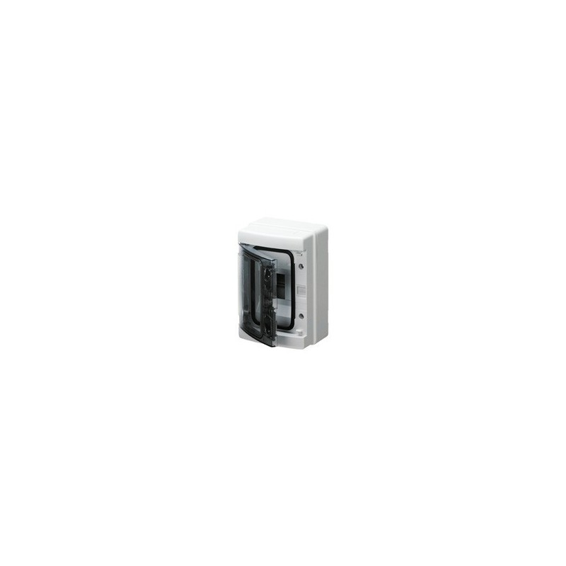 Scatola Stagna per Esterno con Sportello 2 Posti IP55 colore Grigio K2 System