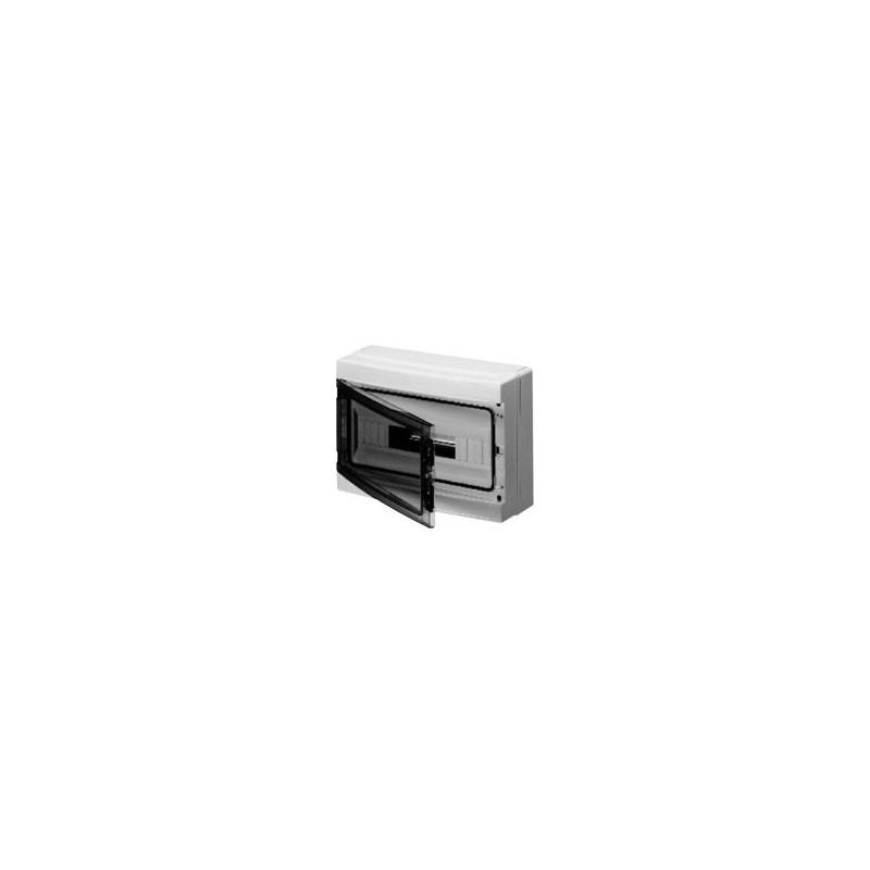 Centralino stagno 18 Moduli grigio porta trasparente IP65 Gewiss GW40106