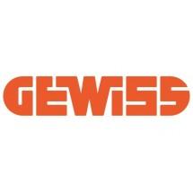 GEWISS GW22543 SERIE TOP SYSTEM PLACCA IN TECNOPOLIMERO verde Venezia 3 posti