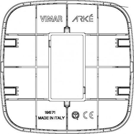 Placche Vimar Arké 19671.84