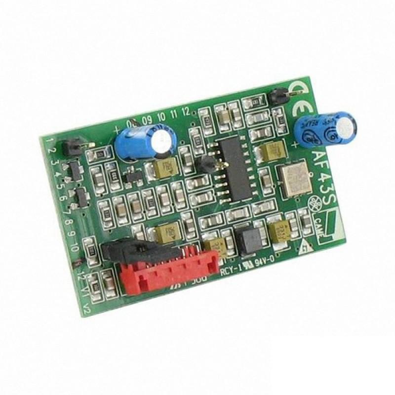 Scheda Radiofrequenza 433,92 MHz ad Innesto Automazione Cancello Came 001AF43S