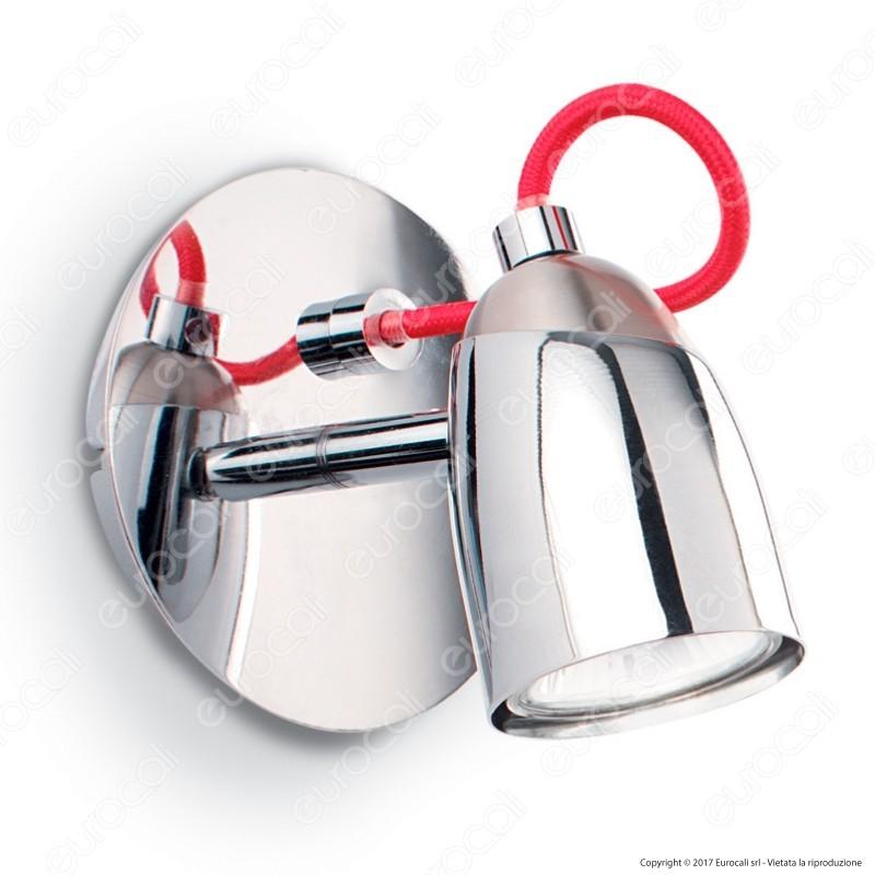 Ideal Lux Pollicino AP1 Lampada da Parete in Metallo con Portalampada per Lampadine GU10